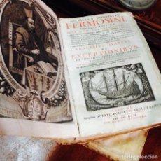 Libros antiguos: NICOLAI RODRIGUEZ FERMOSINI, QUONDAM COLLEGAE AÑO 1662 ENCUADERNADO EN PERGAMINO. Lote 98501723