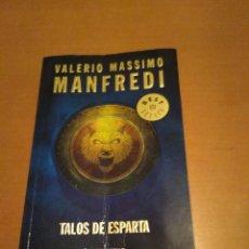 Libros antiguos: TALOS DE ESPARTA. Lote 98508271