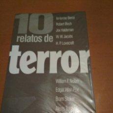 Libros antiguos: 10 RELATOS DE TERROR. Lote 98509395