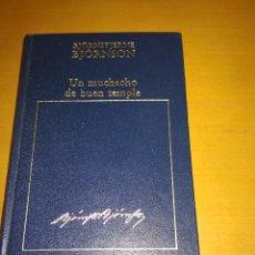 Libros antiguos: UN MUCHACHO DE BUEN TEMPLE. Lote 98511003