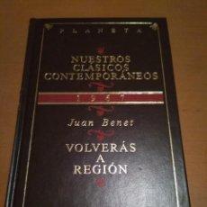 Libros antiguos: VOLVERÁS A REGION . Lote 98511107