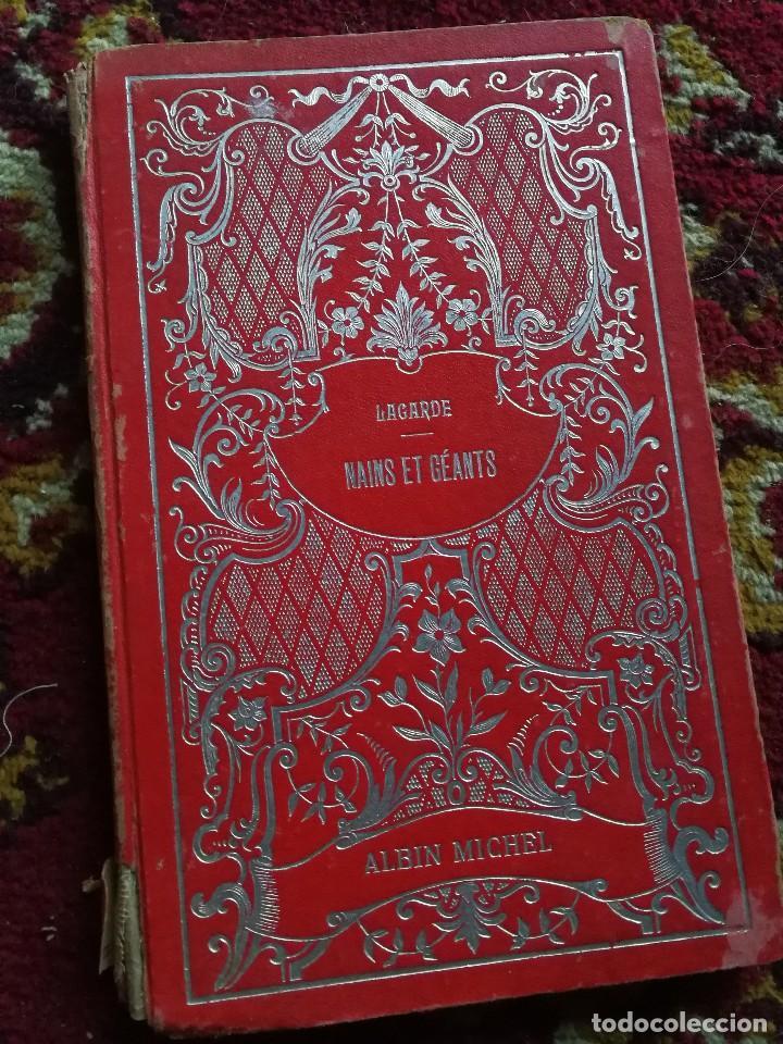 NAINS ET GEANTS- (ENANOS Y GIGANTES) -EMILE LAGARDE, ILUSTRADO 15 GRABADOS.1860-1900. RARO!!!. (Libros Antiguos, Raros y Curiosos - Otros Idiomas)