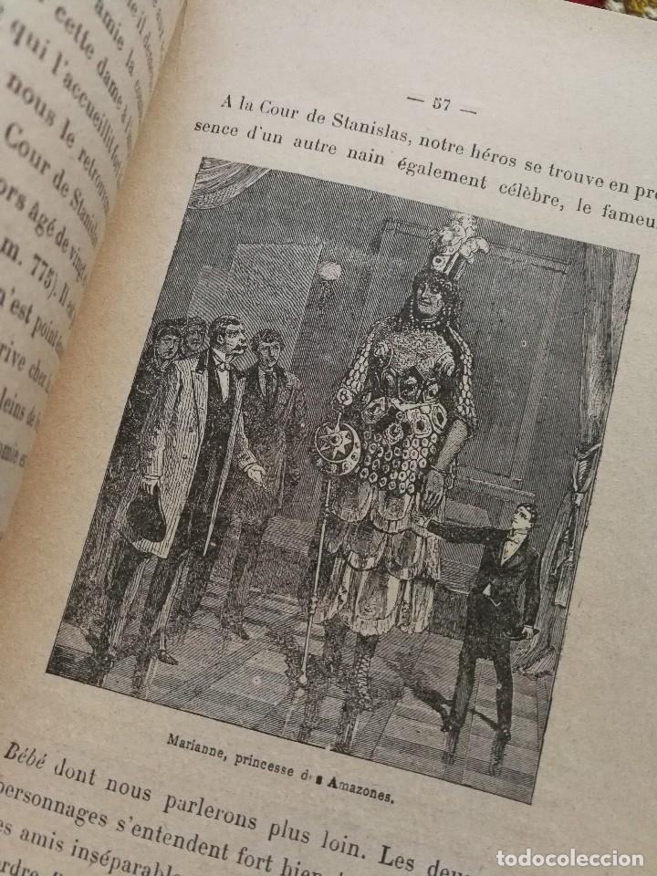 Libros antiguos: NAINS ET GEANTS- (ENANOS Y GIGANTES) -EMILE LAGARDE, ILUSTRADO 15 GRABADOS.1860-1900. RARO!!!. - Foto 3 - 98511543