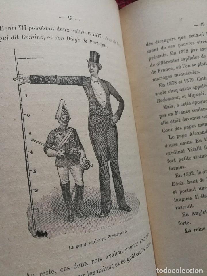 Libros antiguos: NAINS ET GEANTS- (ENANOS Y GIGANTES) -EMILE LAGARDE, ILUSTRADO 15 GRABADOS.1860-1900. RARO!!!. - Foto 4 - 98511543