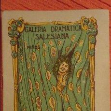 Libros antiguos: MANUEL GENARO RENTERO.ENRIQUE EL ENVIDIOSO.GALERIA DRAMATICA SALESIANA.BARCELONA.1931. Lote 98592719