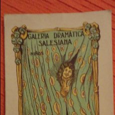 Libros antiguos: MAXIMILIANO MONJE.CALABAZAS.PROVERBIO EN UN ACTO.DRAMATICA INFANTIL SALESIANA.Nº 20. Lote 98592831