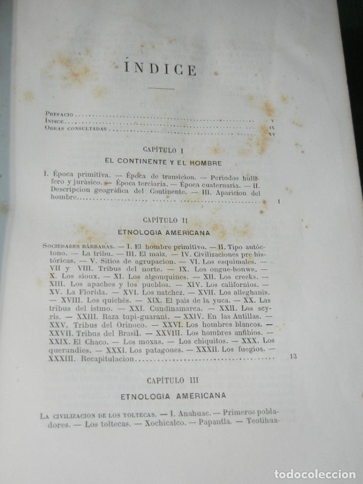 Libros antiguos: LA ATLANTIDA. ESTUDIOS DE HISTORIA (AMERICA) DE DIOGENES DECOUD, 1885 - Foto 3 - 66240962