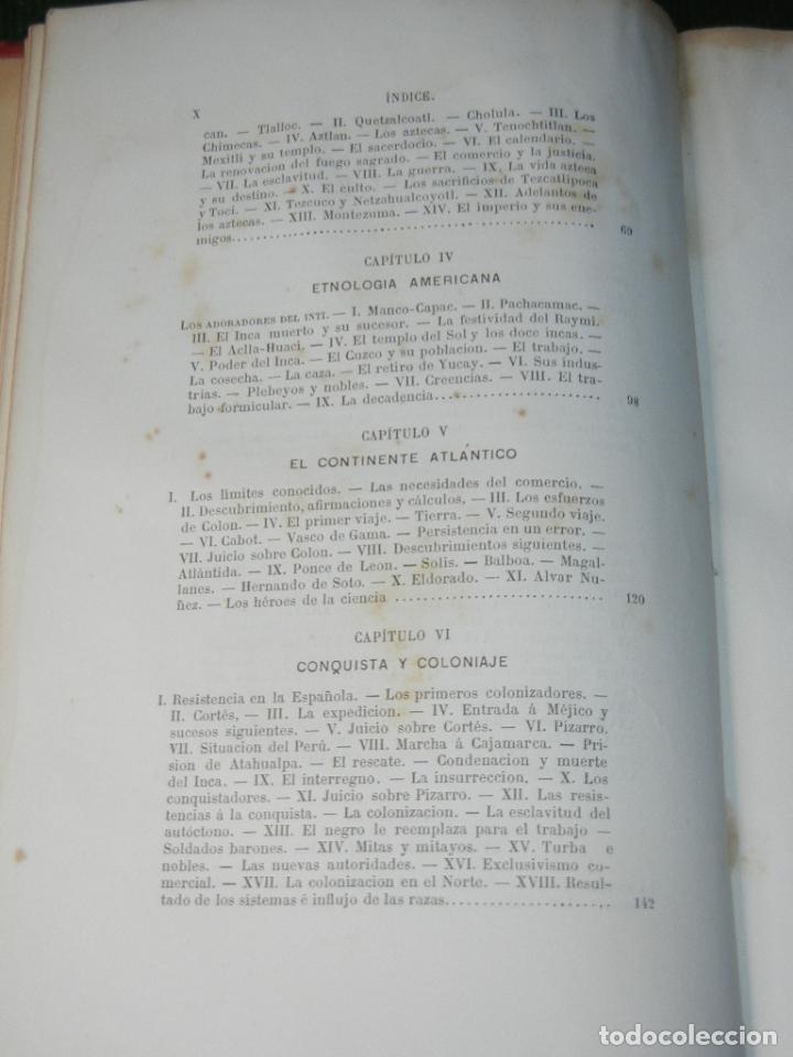Libros antiguos: LA ATLANTIDA. ESTUDIOS DE HISTORIA (AMERICA) DE DIOGENES DECOUD, 1885 - Foto 4 - 66240962