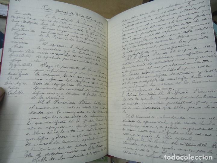 Libros antiguos: Asociacion de la prensa de la coruña libro de actas 1904 1911 edicion facsimil - Foto 8 - 98636403