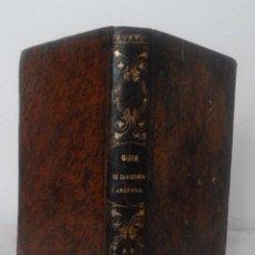 Libros antiguos: GUIAS POR FERROCARRIL DE BARCELONA A ARENYS,MARTORELL,TARRASA,GRANOLLERS - AÑO 1857 - V.BALAGUER.. Lote 98676571
