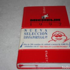 Libros antiguos: ANTIGUA A ESTRENAR GUÍA DE MICHELIN DEL AÑO 1997. Lote 98696899