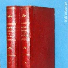 Libros antiguos: HISTORIA DE LOS FRAILES Y DE SUS CONVENTOS .(2VOL.OBRA COMPLETA).-ANTONIO R. ZORRILLA. Lote 98713423