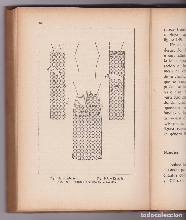 Libros antiguos: METODO DE CORTE, PRUEBA Y ARMADO. ELISA JARO. ED. GUSTAVO GILI 1935 - Foto 3 - 98723531