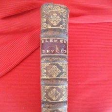 Libros antiguos: LES ELEMENS D EUCLIDE. Lote 98832367