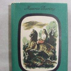 Libros antiguos: TRIANGULO / MAURICE BARING / 1ª EDICIÓN 1943. Lote 98987379