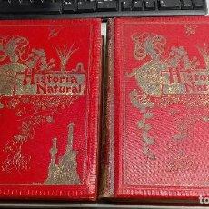 Alte Bücher - HISTORIA NATURAL / ODON DE BUEN / 2 TOMOS / MANUEL SOLER - BARCELONA FINALES SIGLO XIX - 99087283