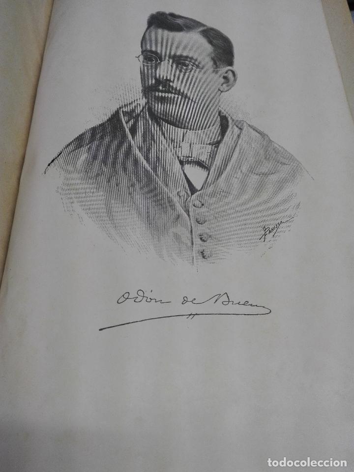Libros antiguos: HISTORIA NATURAL / ODON DE BUEN / 2 TOMOS / MANUEL SOLER - BARCELONA FINALES SIGLO XIX - Foto 3 - 99087283
