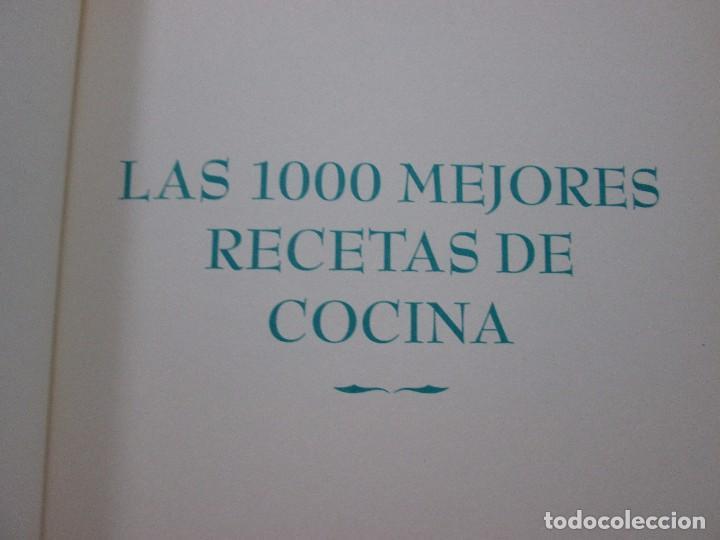 Libros antiguos: LAS 1000 MEJORES RECETAS DE COCINA - EDITORIAL OPTIMA - MUY BUENA CONSERVACIÓN - Foto 7 - 99091891