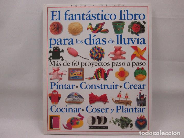 EL FANTÁSTICO LIBRO PARA LOS DÍAS DE LLUVIA - CIRCULO LECTORES - ANGELA WILKES (Libros Antiguos, Raros y Curiosos - Literatura Infantil y Juvenil - Otros)