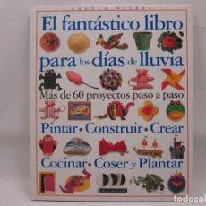 Libros antiguos: EL FANTÁSTICO LIBRO PARA LOS DÍAS DE LLUVIA - CIRCULO LECTORES - ANGELA WILKES. Lote 99092371