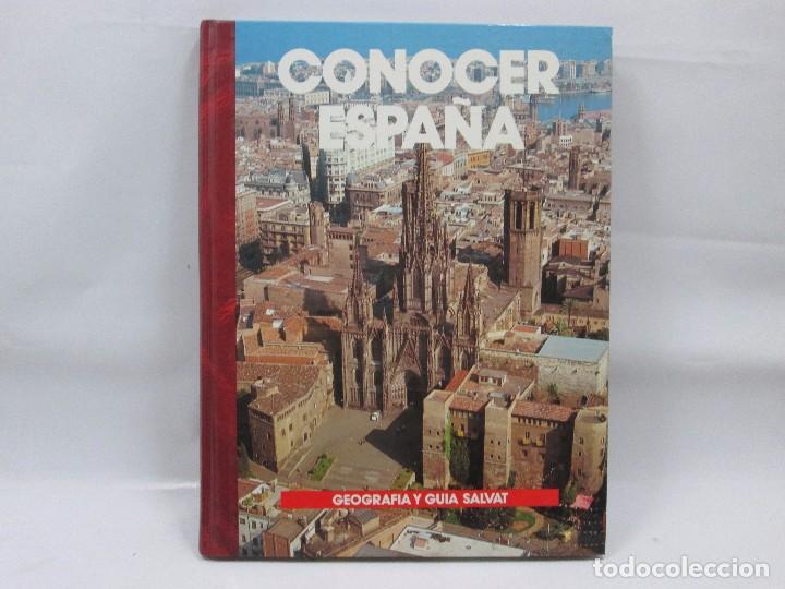 CONOCER ESPAÑA NUM 4 - CATALUÑA - GEOGRAFIA Y GUIA SALVAT - 1990 - MUY RARO! (Libros Antiguos, Raros y Curiosos - Literatura Infantil y Juvenil - Otros)