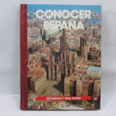 Libros antiguos: CONOCER ESPAÑA NUM 4 - CATALUÑA - GEOGRAFIA Y GUIA SALVAT - 1990 - MUY RARO! . Lote 99092979