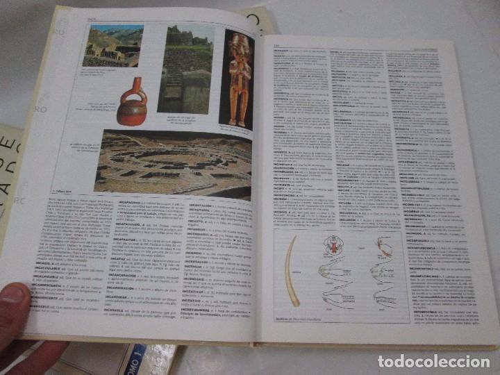 Libros antiguos: 3 DICCIONARIOS LAROUSSE ILUSTRADO - 1998 - DICCIONARIO ENCICLOPEDICO - MUY RAROS - Foto 5 - 99093403