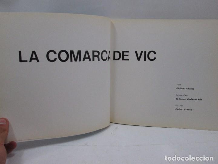 Libros antiguos: LA COMARCA DE VIC - COLECCIO PAISATGES COMARCALS Nº 1 - EDITORIAL MONTBLANC - IDIOMA CATALAN - 1971 - Foto 3 - 99094283