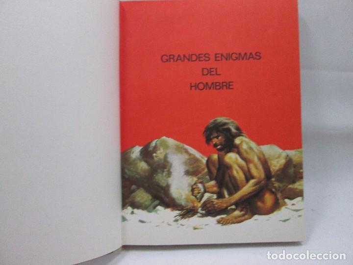Libros antiguos: GRANDES ENIGMAS DEL HOMBRE - LOS ORIGENES DEL HOMBRE I - EDITORIAL FERNI - Foto 3 - 99094643