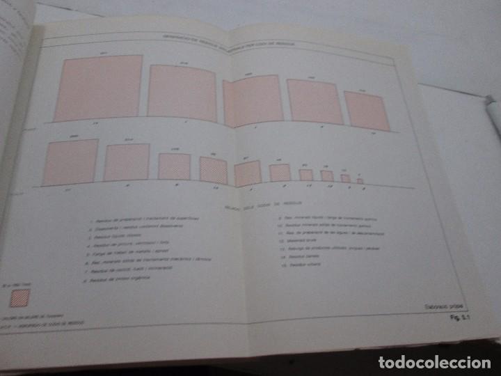 Libros antiguos: LIBRO - PLA DIRECTOR PER A LA GESTIÓ DELS RESIDUS INSUSTRIALS A CATALUNYA - 1989 - Foto 6 - 99095543