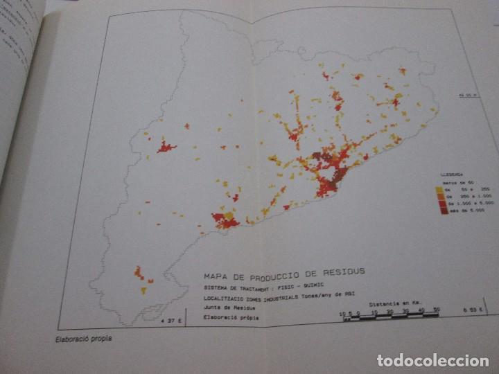 Libros antiguos: LIBRO - PLA DIRECTOR PER A LA GESTIÓ DELS RESIDUS INSUSTRIALS A CATALUNYA - 1989 - Foto 7 - 99095543