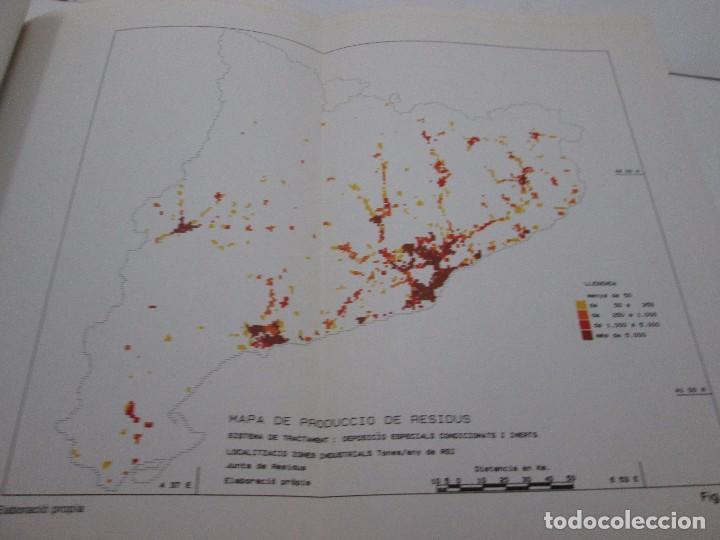 Libros antiguos: LIBRO - PLA DIRECTOR PER A LA GESTIÓ DELS RESIDUS INSUSTRIALS A CATALUNYA - 1989 - Foto 8 - 99095543