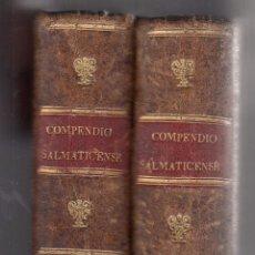 Libros antiguos: R. P. FR. MARCOS DE SANTA TERESA. COMPENDIO MORAL SALMATICENSE. 2 VOLS. MADRID, 1808.. Lote 98922727