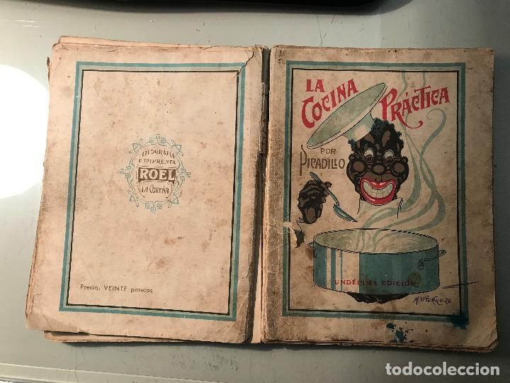 PICADILLO. LA COCINA PRÁCTICA. EDITORIAL ROEL. LA CORUÑA, 1944. (Libros Antiguos, Raros y Curiosos - Cocina y Gastronomía)