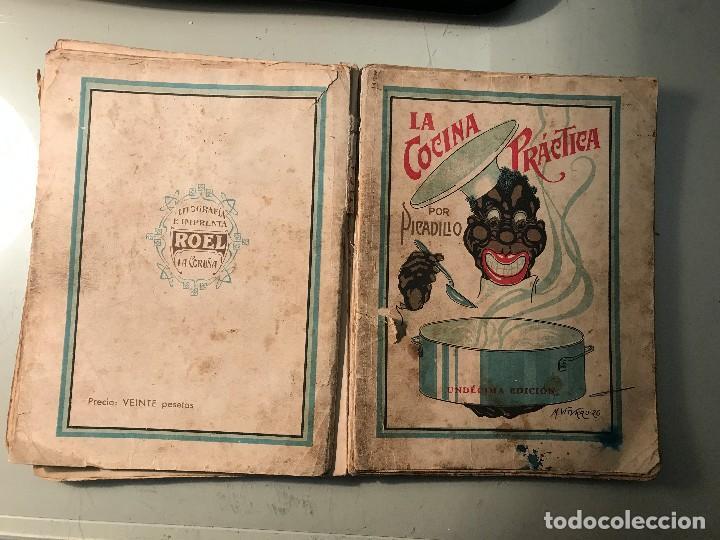 Libros antiguos: Picadillo. La Cocina Práctica. Editorial Roel. La Coruña, 1944. - Foto 2 - 99104987