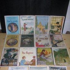 Libros antiguos: (F.1) LOTE DE 17 NOVELAS EN CATALAN DEL AÑO 1924 POR J.M. FOLCH I TORRES. Lote 99329923