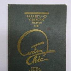 Libros antiguos: NUEVO Y SENCILLO METODO DE CORTE CHIC MORO/ LENCERIA Y VESTIDOS NIÑAS Y NIÑOS MODISTERIA. Lote 99353055
