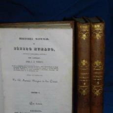 Libros antiguos: (MF) J J VIREY - HISTORIA NATURAL DEL JENERO HUMANO CON LAMINAS , TRAD. ANTONIO BERGWES DE LAS CASAS. Lote 99373323