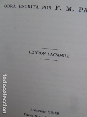 Libros antiguos: HISTORIA Y COSTUMBRES DE LOS GITANOS -F,M.PABANO - - Foto 3 - 99440963