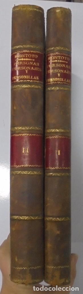 Libros antiguos: PERSONAJES, PERSONAS Y PERSONILLAS QUE CORREN POR LAS TIERRAS DE AMBAS CASTILLAS. 2 TOMOS. LEER - Foto 2 - 99521067