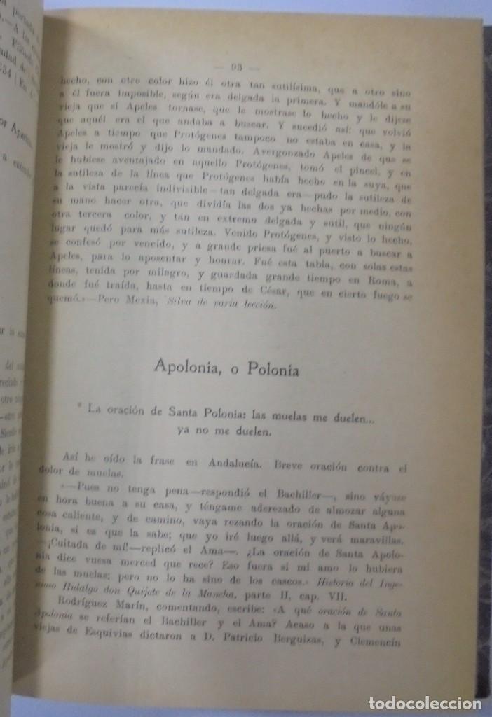 Libros antiguos: PERSONAJES, PERSONAS Y PERSONILLAS QUE CORREN POR LAS TIERRAS DE AMBAS CASTILLAS. 2 TOMOS. LEER - Foto 6 - 99521067