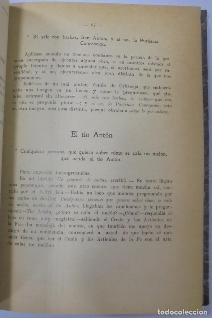 Libros antiguos: PERSONAJES, PERSONAS Y PERSONILLAS QUE CORREN POR LAS TIERRAS DE AMBAS CASTILLAS. 2 TOMOS. LEER - Foto 7 - 99521067