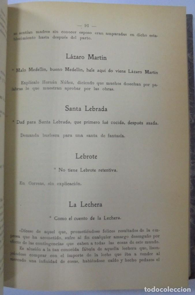 Libros antiguos: PERSONAJES, PERSONAS Y PERSONILLAS QUE CORREN POR LAS TIERRAS DE AMBAS CASTILLAS. 2 TOMOS. LEER - Foto 14 - 99521067