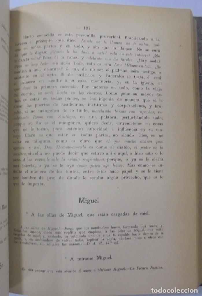 Libros antiguos: PERSONAJES, PERSONAS Y PERSONILLAS QUE CORREN POR LAS TIERRAS DE AMBAS CASTILLAS. 2 TOMOS. LEER - Foto 18 - 99521067
