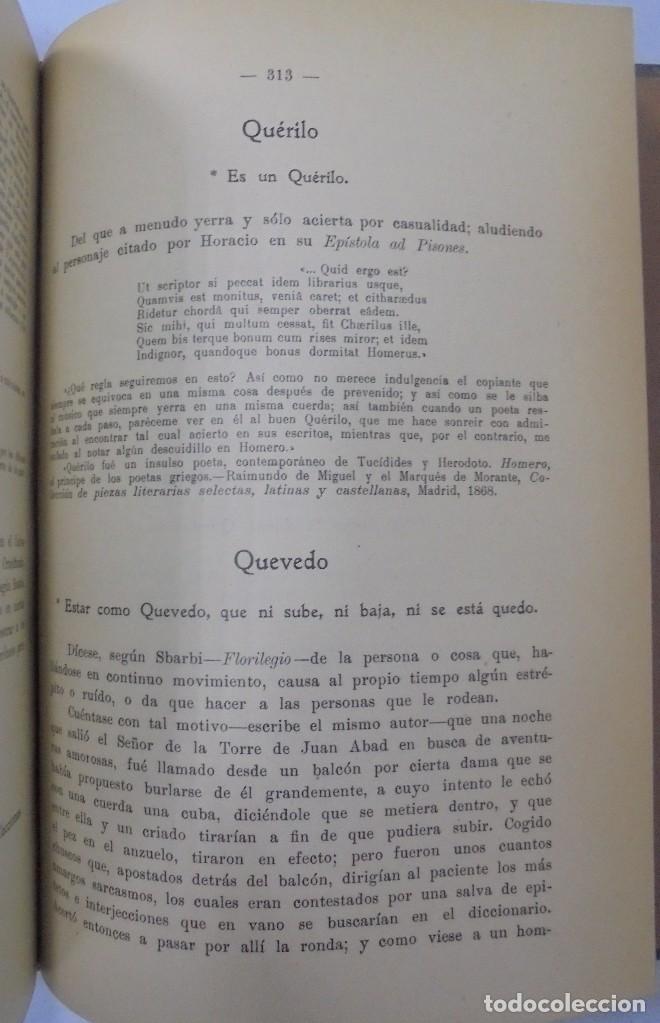 Libros antiguos: PERSONAJES, PERSONAS Y PERSONILLAS QUE CORREN POR LAS TIERRAS DE AMBAS CASTILLAS. 2 TOMOS. LEER - Foto 20 - 99521067