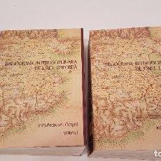 Libros antiguos: BIBLIOGRAFIA INTERDISCIPLINARIA DE L´ALT EMPORDA (PADROSA) 2 VOLUMS. Lote 99534607