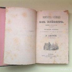 Libros antiguos: ORDENANZAS GENERALES DEL EJERCITO- N. AMOROS - MADRID 1.879. Lote 99521791