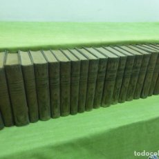 Libros antiguos: EPISODIOS NACIONALES - BENITO PEREZ GALDOS -23 TOMOS-EDITORIAL HERNANDO 1932 PRIMERA Y OTRAS SERIES. Lote 99715963