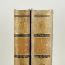 Libros antiguos: HISTORIA GENERAL DE ESPAÑA-MODESTO LAFUENTE,JUAN VALERA-ED.MONTANER Y SIMÓN 1885-TOMO V Y VI. Lote 99805955