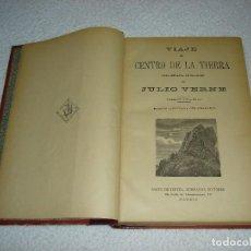 Libros antiguos: OBRAS. JULIO VERNE (7 NOVELAS COMPLETAS) - EDITORIAL SAENZ DE JUBERA (CON NUMEROSOS GRABADOS). Lote 99827567